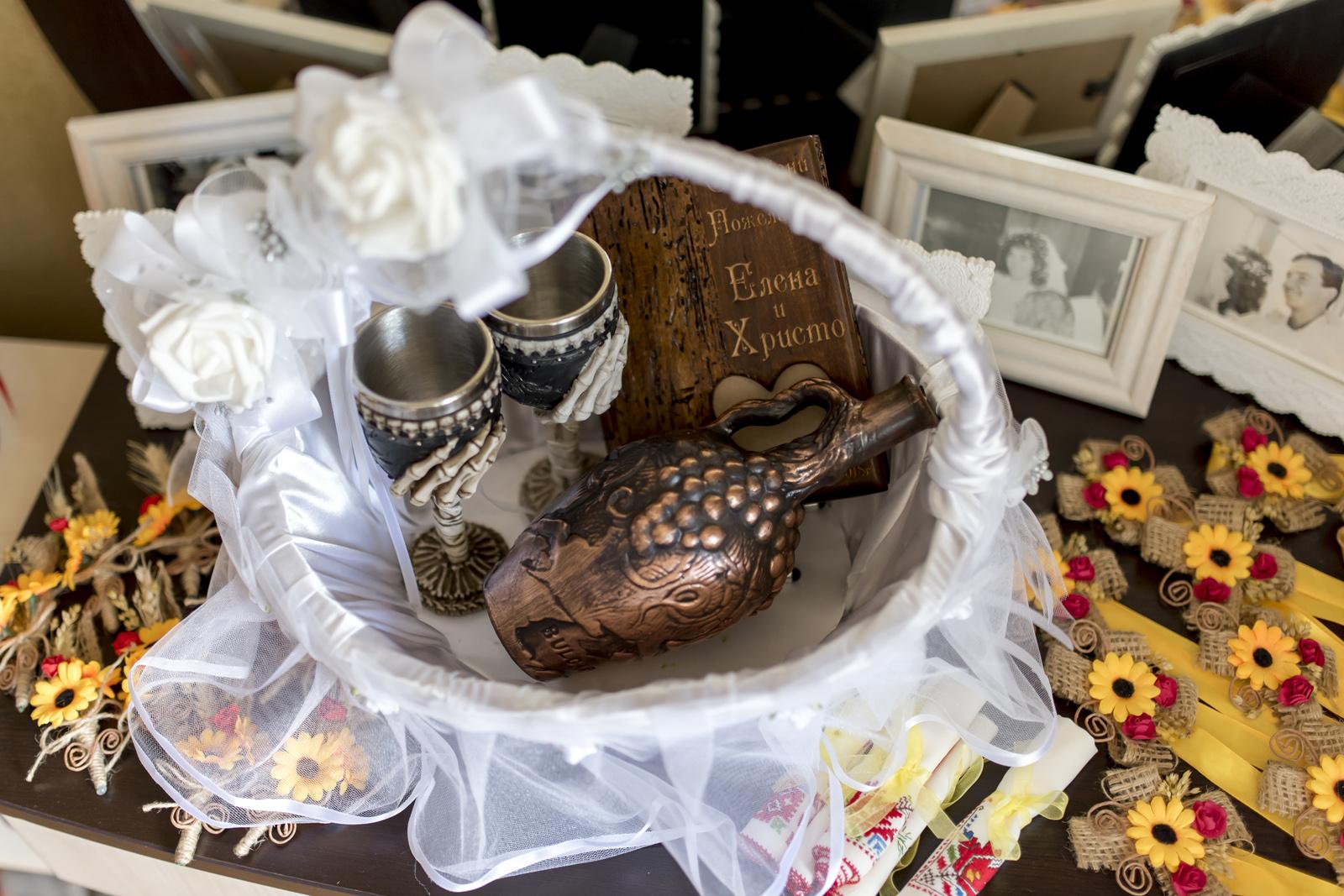 Сватбата на Елена и Христо
